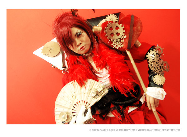 My Cosplay Queen Of Hearts Steampunk Version Arshtatsuade S Blog